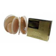 """LOREAL (Paris) POWDER CAKE U V A  Moisturieng two way powder"" (SH32805)"